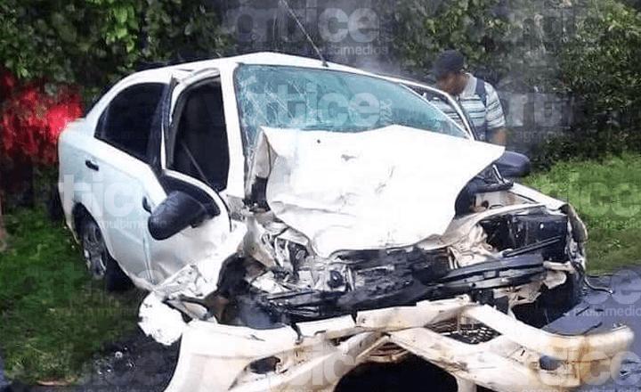 Muere copiloto tras accidente automovilístico en Mazatán