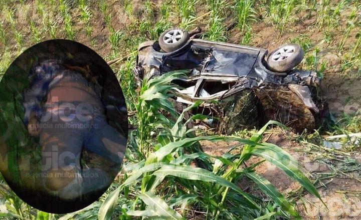 Muere niña tras volcar en un barranco de 100 metros