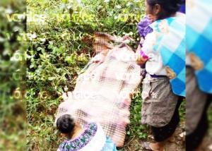 ¡Feminicidio! Asesinan a balazos a una mujer en Pantelhó