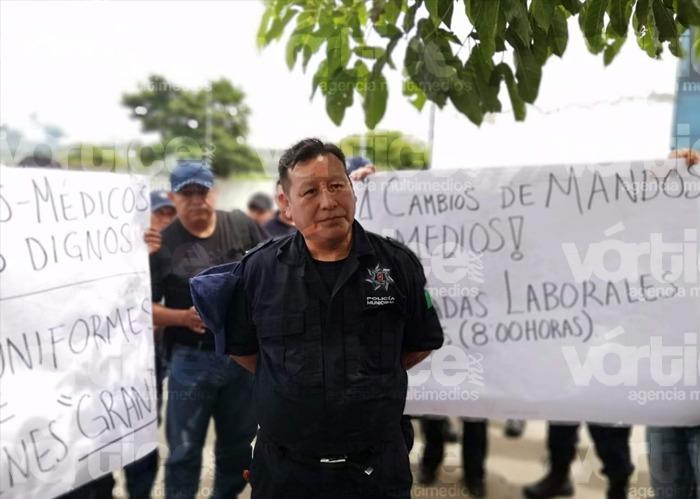 Acusan a policías de Tuxtla por motín y coalición de servidores públicos