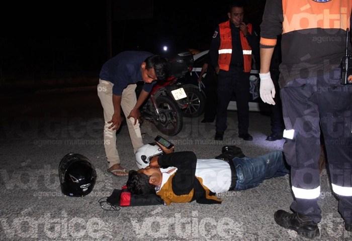 Atropellan a empleado de Banco Azteca en Tuxtla