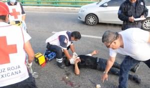Peatón queda grave tras ser atropellado en Chiapa de Corzo