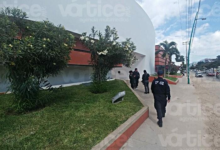 Intenso operativo en autohotel; buscan a responsables de robo millonario en Tuxtla