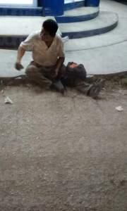 Atropellan a ciclista en San José Terán