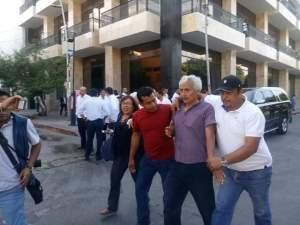 Reprime Policía de Chiapas a manifestantes, entre ellos mujeres y niños