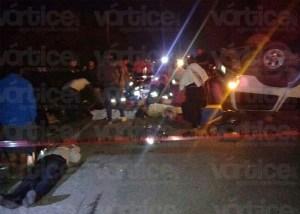 Muere menor en accidente en Coita; hay nueve heridos más