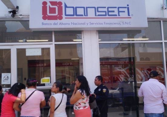 Asaltan Bansefí en Tuxtla y los cuerpos policiales acuden tarde
