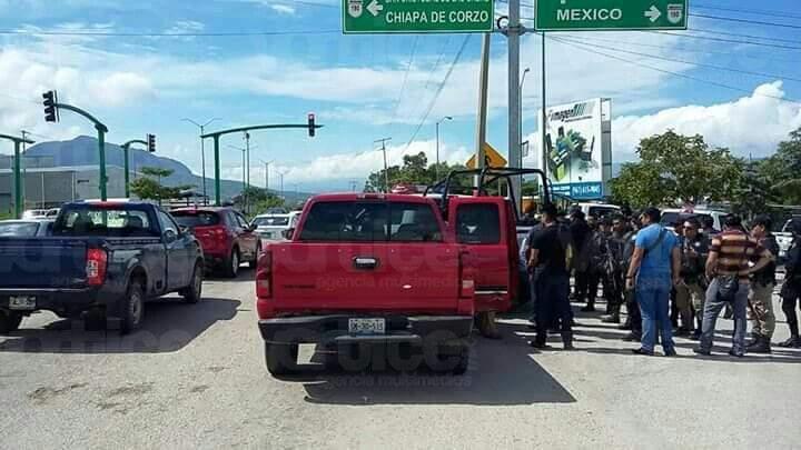 Balacera en Chiapa de Corzo causa pánico en estudiantes de primaria