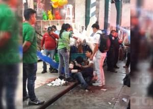 Acuchillan a joven en la zona centro de Tuxtla
