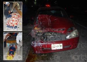 Encontronazo en Chiapa de Corzo deja 5 heridos; dos son menores