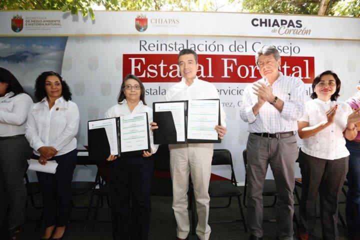 Consolida Rutilio Escandón acciones para preservar el medio ambiente