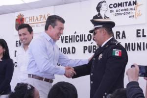 Con unidad, se construye un Chiapas estable y en paz: Rutilio Escandón