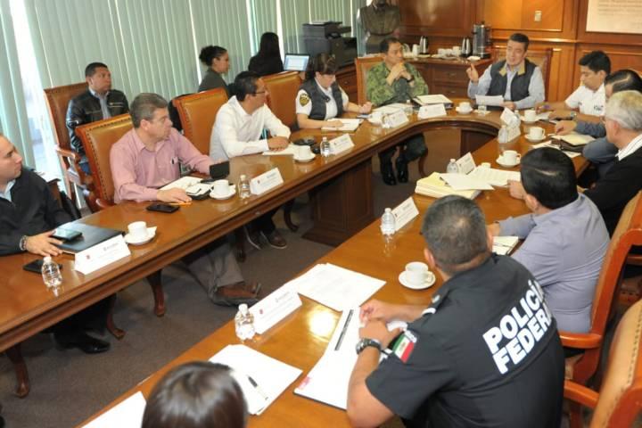 Mesa de Seguridad fortalece acciones institucionales a favor de Chiapas