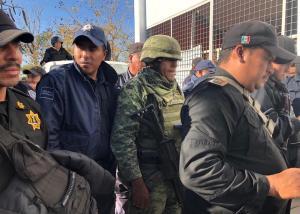 Catean vivienda en Berriozábal y aseguran explosivos, armas y chalecos antibalas