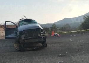 Fatal volcadura en Villaflores deja un muerto y dos niños heridos