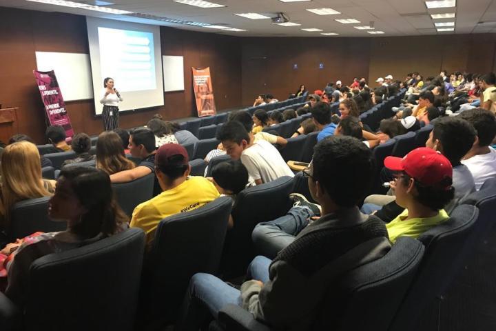 Promueve Fiscalía prevención del delito en alumnos del Tec de Monterrey