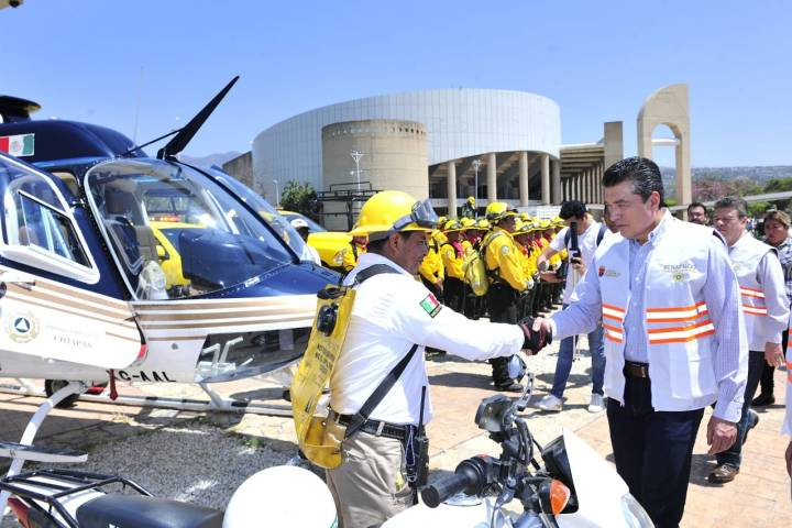 Encabeza Rutilio Escandón el Pacto Estatal para la Prevención y Combate de Incendios
