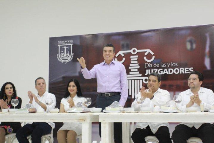 En el marco del Día del Juzgador Mexicano Llama Rutilio Escandón a impartir una justicia apegada al Estado de derecho
