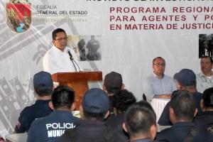 Pide fiscal a alcaldes asumir responsabilidad en materia de seguridad tal como lo hace el gobernador