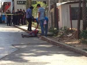 Asesinan de dos balazos a joven en Palenque