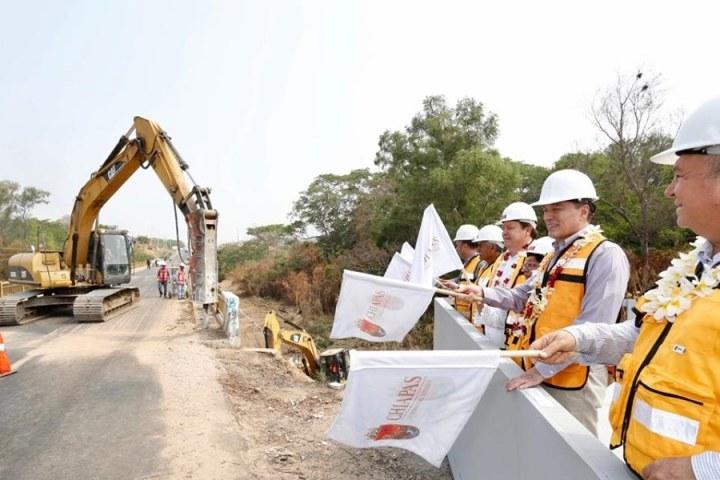 Rutilio Escandón da inicio a modernización de puentes sobre carretera Ocozocoautla-Villaflores