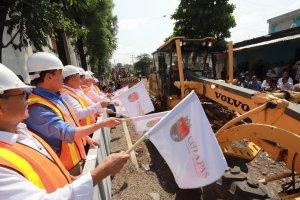 Beneficiará Rutilio Escandón a 40 colonias de Tapachula con vialidad segura y rápida