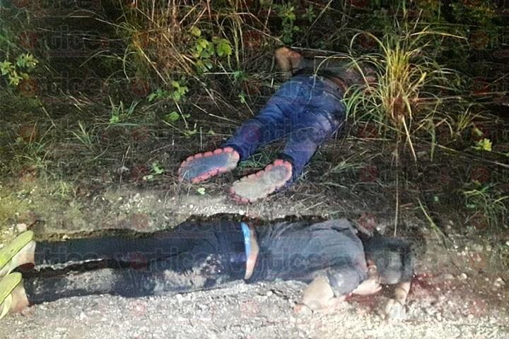 Encuentran cadáveres con el tiro de gracia en Chiapa de Corzo