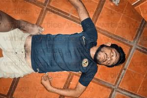Sorprenden a presunto ladrón en Jardines del Grijalva