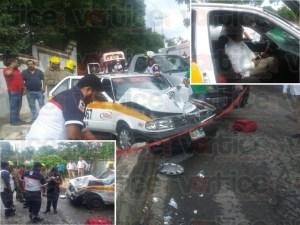 """Carreterazo"" en Copoya deja un ruletero herido"