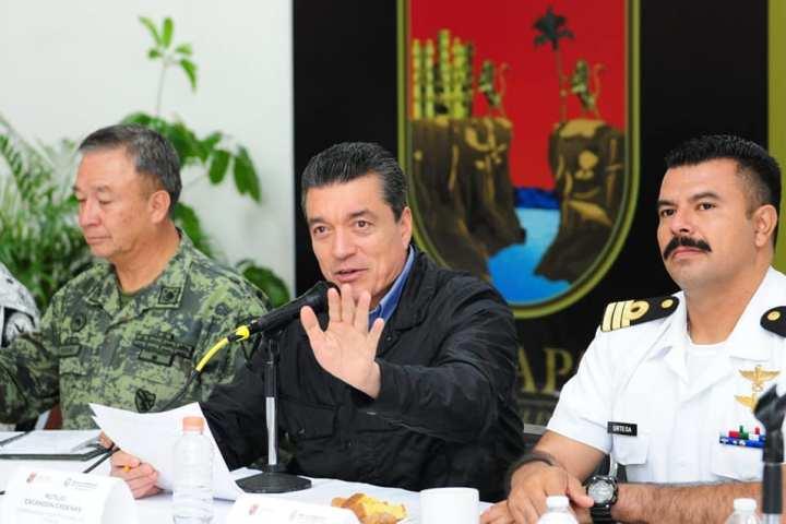 El pueblo no está solo, tiene autoridades que defienden sus garantías e integridad: Rutilio Escandón
