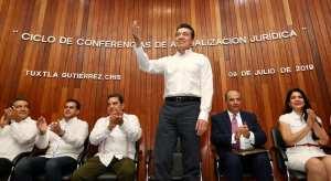 La actualización jurídica fortalece a las instituciones encargadas de impartir justicia: Rutilio Escandón