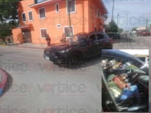 Rafaguean vehículo y asesinan a pareja en Comitán