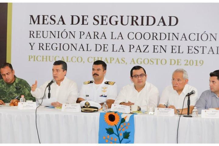 Mesa de seguridad, mecanismo exitoso: Delegado FGR