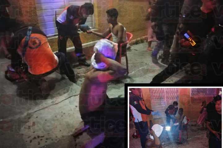Violenta riña en el barrio San Francisco deja dos heridos