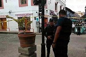 Se registra balacera en el centro histórico de San Cristóbal