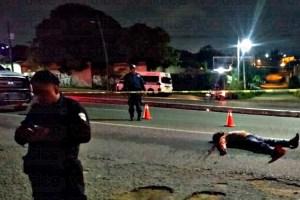 ¡Fatal embestida! muere peatón al intentar cruzar la calle