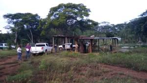Invasores entregan predio La Paz en Frontera Comalapa