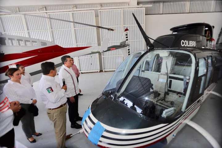 En Chiapas, las aeronaves del gobierno son exclusivamente para servir al pueblo: Rutilio Escandón