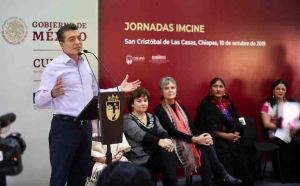 Rutilio Escandón y Alejandra Frausto firman convenio para impulsar cine indígena y de afrodescendientes