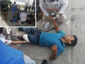 Se resistió a un asalto y lo balearon a quemarropa