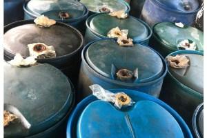 Asegura 6 mil litros de gasolina en La Trinitaria