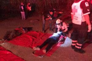 Dice FGE que fueron 4 muertos y 33 heridos en accidente de Las Choapas