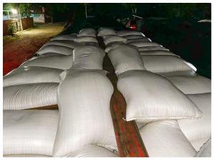 Aseguran 90 toneladas de ajonjolí en Palenque