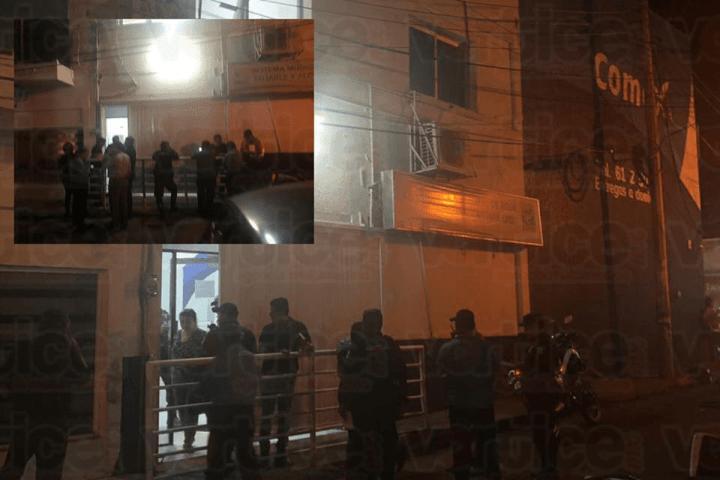 Hombres con armas de alto poder asaltan SMAPA en Tuxtla