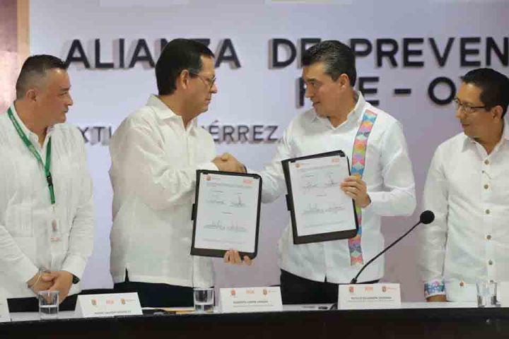 Reconoce Rutilio Escandón suma de esfuerzos para mantener la paz y la seguridad en Chiapas