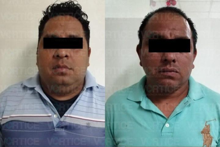 Detienen a dos policías municipales de Tuxtla por robo