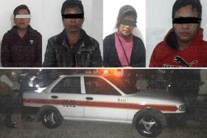 Detienen a presuntos asaltantes de una gasolinera en San Cristóbal