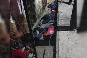 Ejecutan a cuatro personas en plena vía pública de Palenque