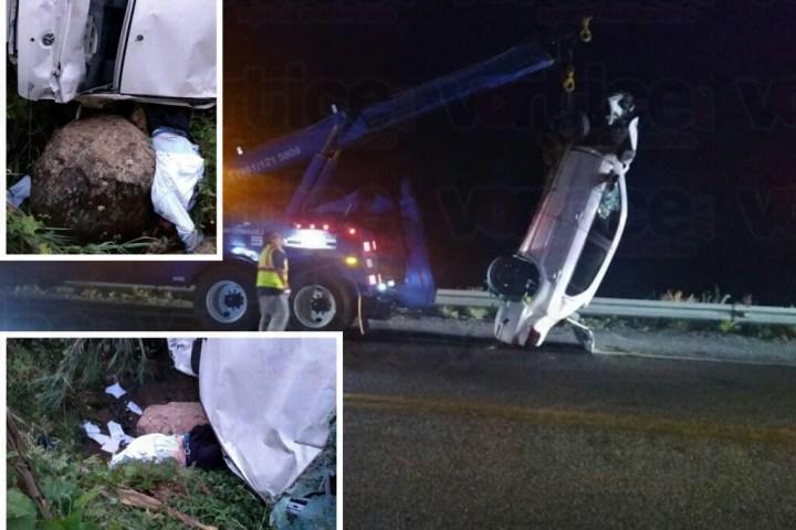 Muere automovilista en la carretera de cuota