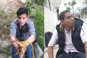 Amarran a presuntos cantoneros en Chiapa de Corzo